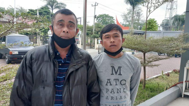 Dua pedagang kaki lima, foto fadhly reza
