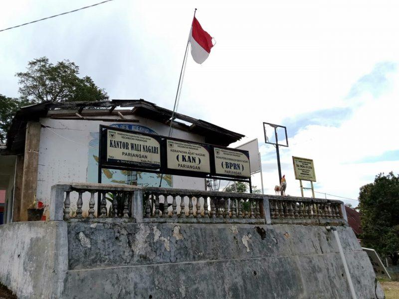 Potret Kantor Wali Nagari Pariangan, Desa Terindah di Dunia foto vir