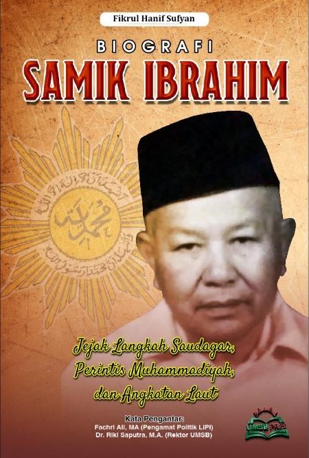 Cover Buku Biografi Samik Ibrahim oleh UMSB Press